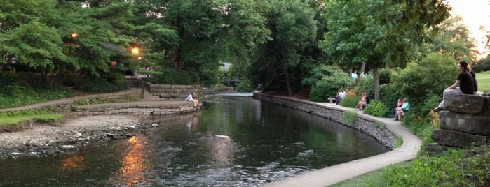 Naperville Riverwalk is one of North Central College.