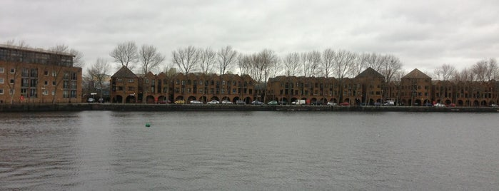 Greenland Dock is one of Chill Out PARKS.