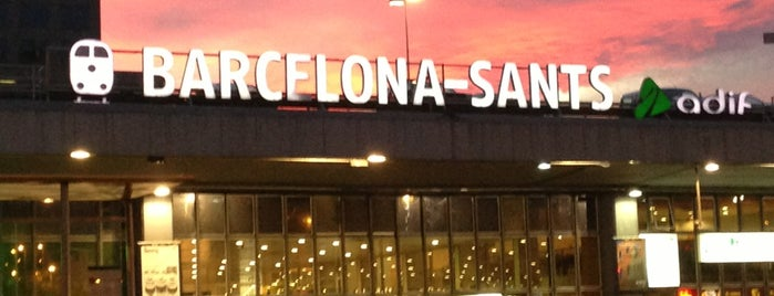 Barcelona Sants Railway Station is one of ESPAÑA-ESPAGNE-SPAIN IS DIFFERENT.