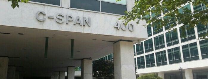 C-SPAN is one of Badge list.