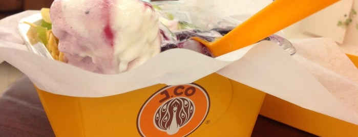 J.Co Donuts & Coffee is one of Bandung Kuliner.