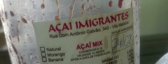 Açaí Imigrantes is one of Pra se empanturrar em SP.