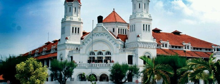 Lawang Sewu is one of Top 10 favorites places in Semarang, Indonesia.