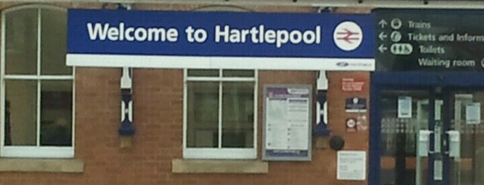 Hartlepool Railway Station (HPL) is one of my friends.
