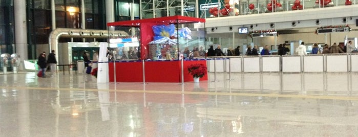 Fiumicino Airport - Departures is one of Rome.