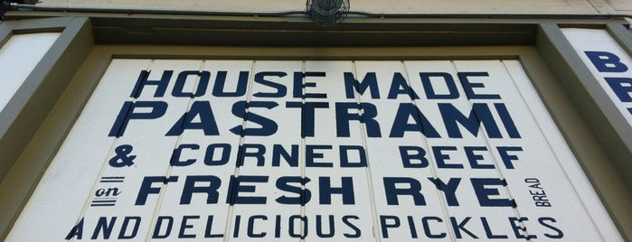 Wise Sons Jewish Delicatessen is one of San Francisco.