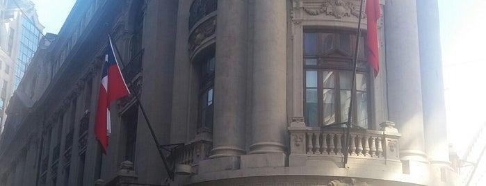 Bolsa de Comercio de Santiago is one of Centro Historico de Santiago.