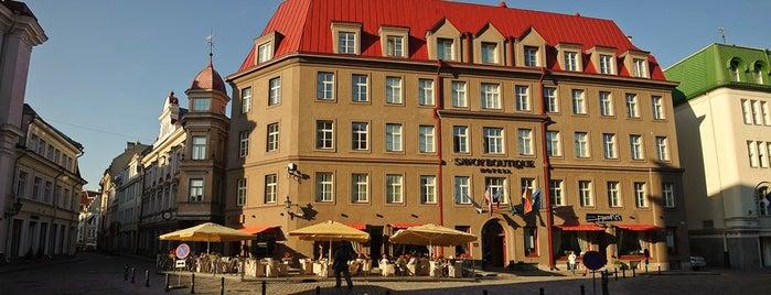 Savoy Boutique Hotel is one of Luxury Hotels in Tallinn.