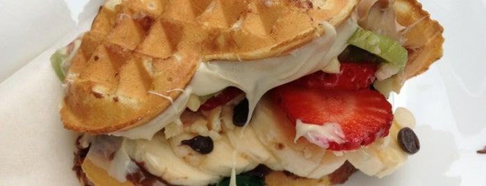 Sakızz Waffle House is one of themaraton.