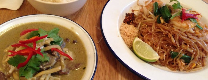 Rosa's is one of The 15 Best Places for a Green Curry in London.