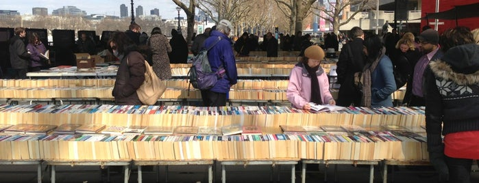 South Bank Book Market is one of Markets of London.