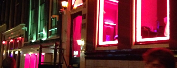 Red Light District is one of Amsterdã, Holanda.