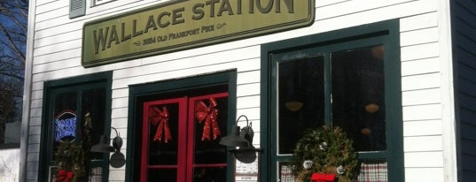 Wallace Station is one of Diners, Drive-ins & Dives.