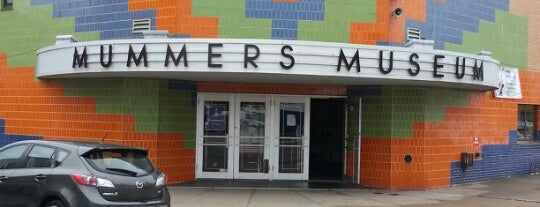 Mummers Museum is one of Roadside Discoveries.
