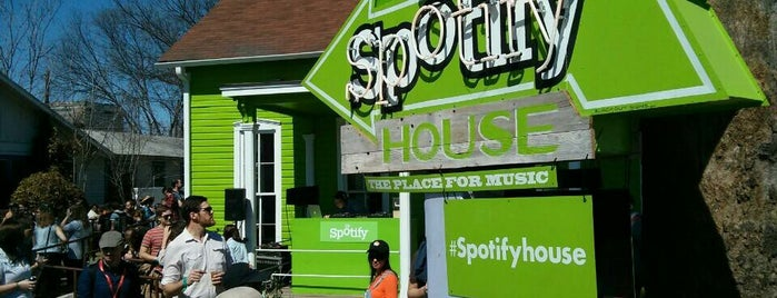 Spotify House is one of SXSW 2013.