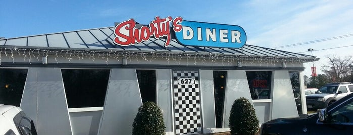 Shorty's Diner is one of Used to Be a Pizza Hut.