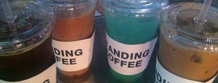 STANDING COFFEE is one of Itaewon Freedom !.