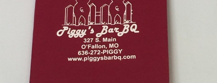 Piggy's Bar BQ is one of To Try.