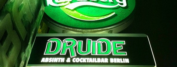 Druide Bar is one of 100 great bars - Lonely Planet 2011.