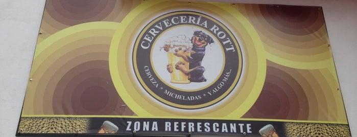 Cervecería Rott is one of Bares, cantinas, cervecerías, micheladas..