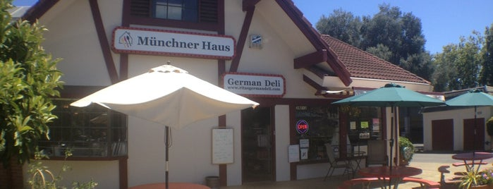 Munchner Haus German Deli is one of Fremont? Seriously?.