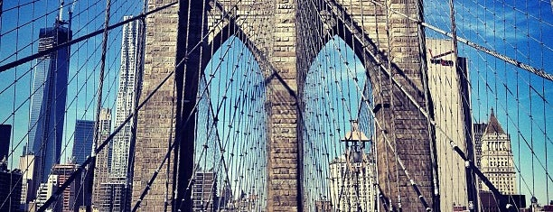 Brooklyn Bridge Promenade is one of USA Trip 2013 - New York.