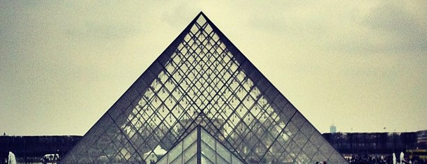 Louvre Pyramid is one of Paris.