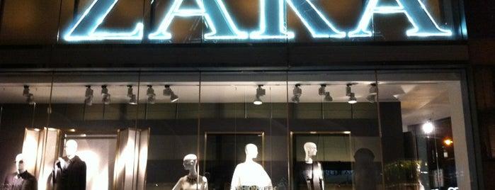 Zara is one of New York.