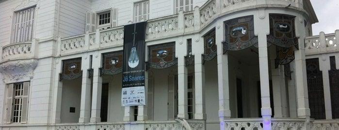 Fundação Pinacoteca Benedito Calixto is one of Santos Cultural.
