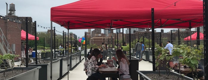 Rooftop Reds is one of Bars with Outdoor Space.