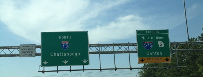 I-75 & I-575 is one of The Chad.