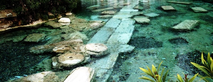 Antique Pool | Cleopatra's Pool is one of Denizli.