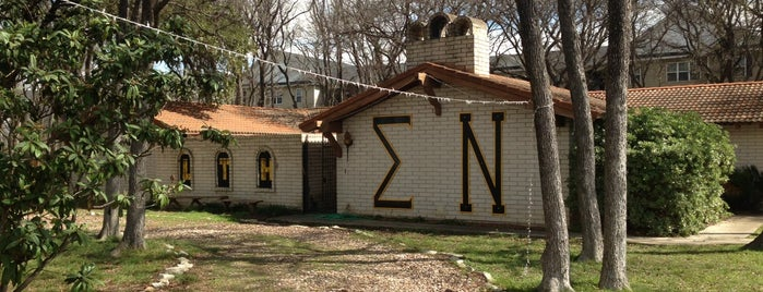 Sigma Nu Palace is one of Sigma Nu Chapter Houses.