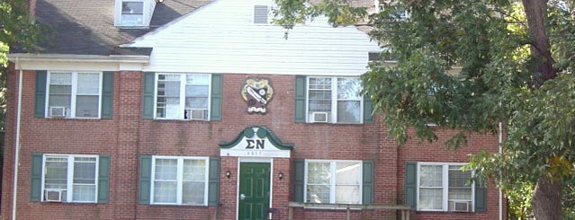 Sigma Nu Chapter House is one of Sigma Nu Chapter Houses.