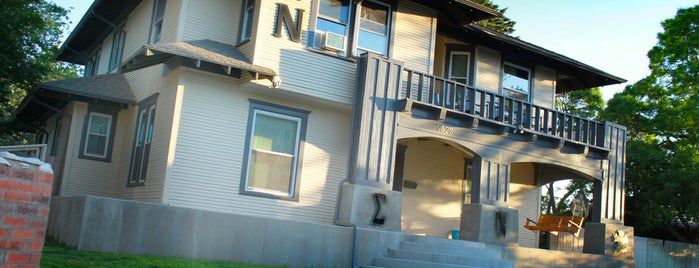 Sigma Nu Chapter Houses