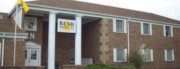 EIU Sigma Nu Chapter House is one of Sigma Nu Chapter Houses.