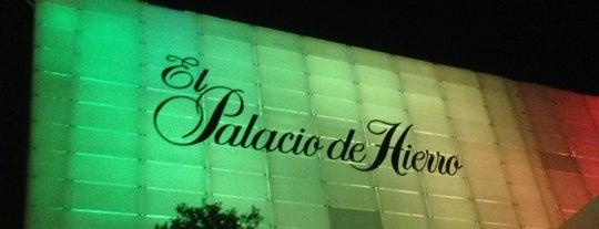 El Palacio de Hierro is one of PH.