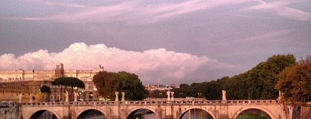 Ponte Sant'Angelo is one of Rome.
