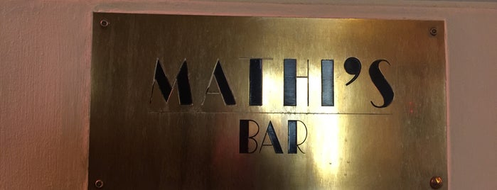 Mathis Bar is one of Paris en after..