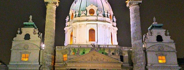 St. Charles's Church is one of Vienna, Austria.