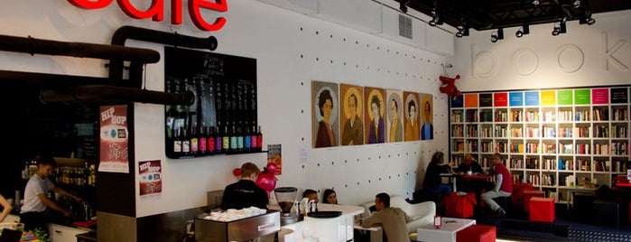 MiTo art café books is one of Warsaw.