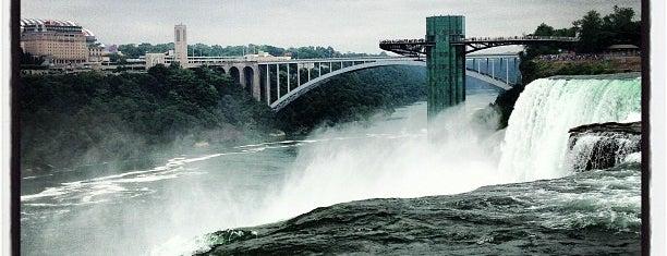 Luna Island is one of Niagara Falls Trip.