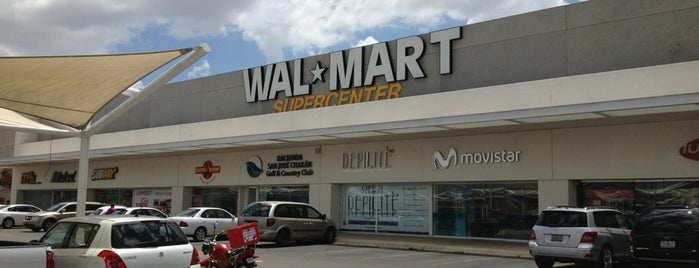 Walmart is one of compras.