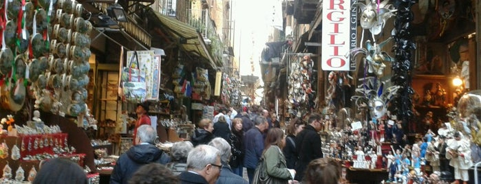 San Gregorio Armeno is one of All-time favorites in Italy.