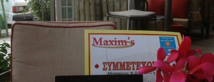 Maxim's is one of WiFi keys @ Thessaloniki (East).