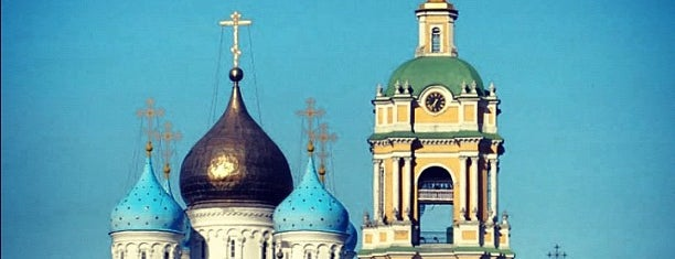 Novospassky Monastery is one of Moscow monasteries  and  churches..