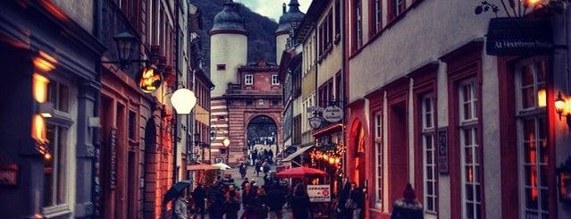 Altstadt Heidelberg is one of Heidelberg/ Germany.
