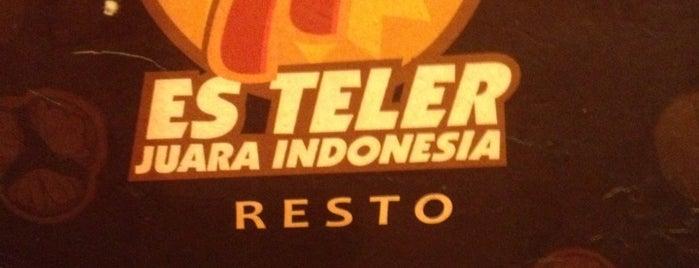 Es Teler 77 is one of Favorite Food.