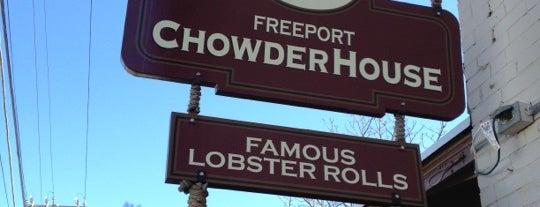 Freeport Chowder House is one of Viagem 2014.