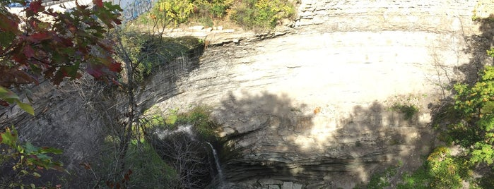 Buttermilk Falls is one of Chasing Waterfalls.